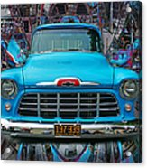 Chevrolet Pick Up Abstract Acrylic Print