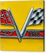 Chevy 427 Turbo-jet Acrylic Print