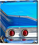 Chevy Bel Air Fin Acrylic Print