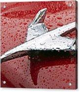 Chevy Bel Air Nomad Hood Ornament Acrylic Print