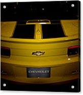 Chevy Camaro Covertible Rs Tail Acrylic Print