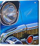 Chevy Headlight Acrylic Print