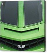 Chevy Ss Emblem Acrylic Print