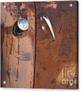 Chevy Truck Door Handle Detail Acrylic Print