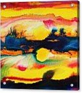 Cheyenne Sunset Acrylic Print