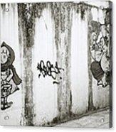 Chiang Mai Graffiti Acrylic Print