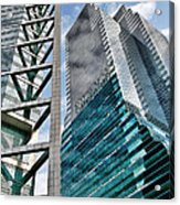 Chicago - A Sophisticated Finance Hub Acrylic Print by Christine Till