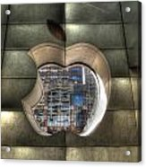 Chicago Apple Store Acrylic Print