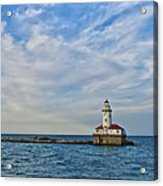 Chicago Lighthouse Acrylic Print