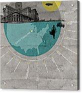 Chicago Poster Acrylic Print