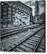 Chicago Rail Station Acrylic Print