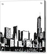 Chicago Skyline Acrylic Print by Matthew Formeller