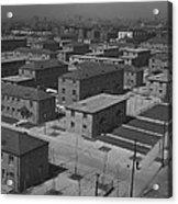 Chicagos Ida B. Wells Housing Project Acrylic Print by Everett