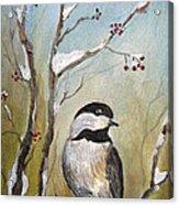 Chickadee Part 1 Acrylic Print