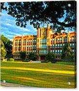 Chicopee High School Chicopee Acrylic Print