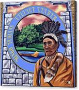 Chief Logan Acrylic Print