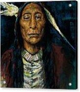 Chief Niwot Acrylic Print