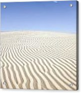 Chihuahuan Desert Dunes Acrylic Print