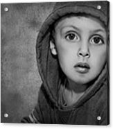 Child Hood Acrylic Print by Pat Abbott