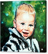Child Portrait Acrylic Print