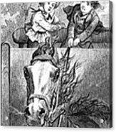 Children, 19th Century Acrylic Print