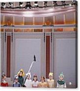 Children On Stage Acrylic Print