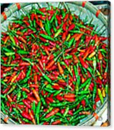 Chili Peppers Acrylic Print