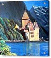 Chillon Castle Acrylic Print