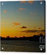 Chilly Sunrise Acrylic Print
