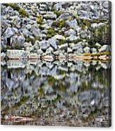 Chimney Pond Reflections Acrylic Print