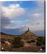 Chimney Rock On The Oregon Trail Acrylic Print