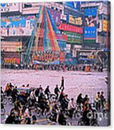 China Chengdu Morning Acrylic Print by First Star Art