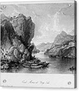 China: Coal Mining, 1843 Acrylic Print