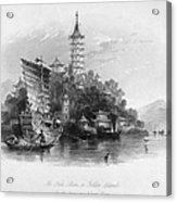 China: Golden Island, 1843 Acrylic Print