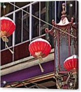 China Town San Francisco Acrylic Print by Kelley King