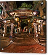 Chinatown Entrance Acrylic Print