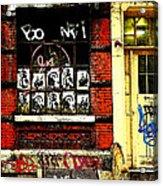 Chinatown Graffiti Acrylic Print