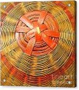 Chinese Basket Texture Acrylic Print