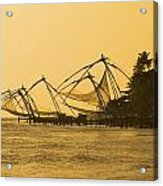 Chinese Fishing Nets Acrylic Print
