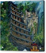 Chinese Hanging Temple Acrylic Print