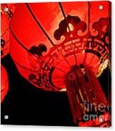 Chinese Lanterns 4 Acrylic Print