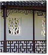 Chinese Walkway Vancouver Chinatown Acrylic Print