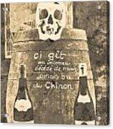 Chinon Wine  Acrylic Print