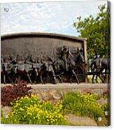 Chisholm Trail Monument Acrylic Print