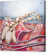 Choclos Envueltos En Aguayo Acrylic Print