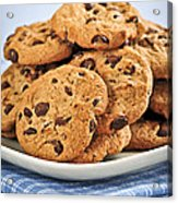 Chocolate Chip Cookies Acrylic Print