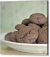 Chocolate Cookies Acrylic Print