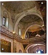 Choir Loft San Xavier Mission Acrylic Print