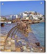 Chora Naxos Acrylic Print