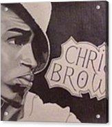 Chris Brown Acrylic Print